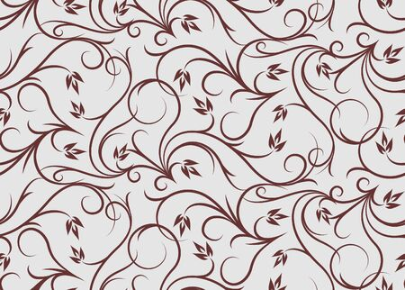 weldless: Floral seamless pattern