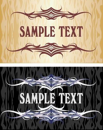 etiqueta: Elegant texts frames.