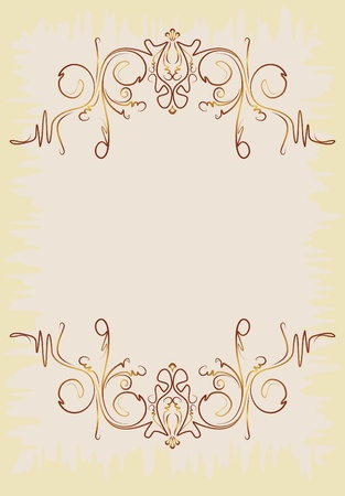 decorative vintage background  Stock Vector - 10707445