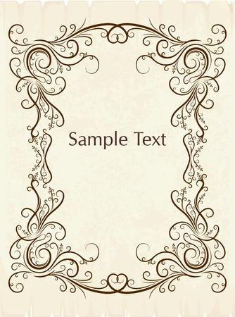 decorative vintage background  Stock Illustratie