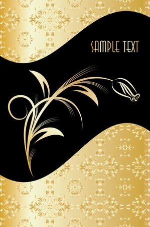 Elegant texts background. Vector illustration.  Vector