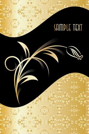 etiqueta: Elegant texts background. Vector illustration.