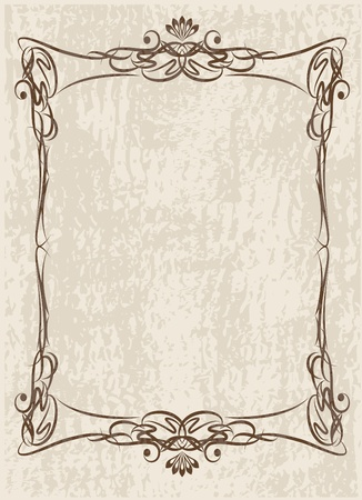 decorative vintage background Stock Vector - 10708961