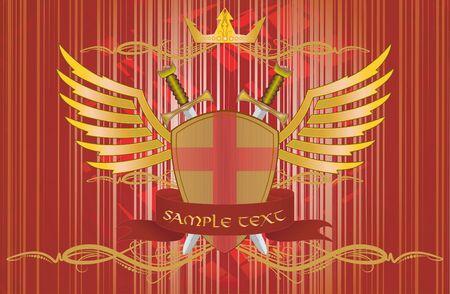 heraldic design  Vector