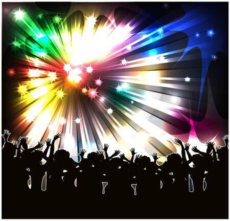 concert lights: Holiday
