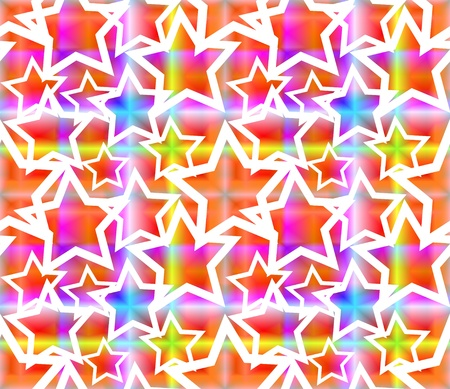 Seamless pattern with stars  photo