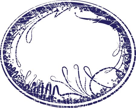 oval  alcohol: Elegant oval frame