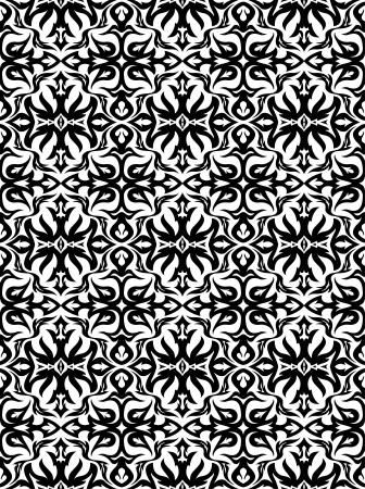 weldless: Elegant seamless pattern.  Stock Photo