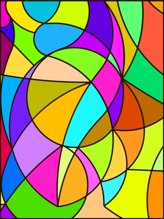Stained glass. Stock Photo - 16650166