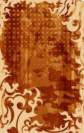 tarnished: Retro-styled background