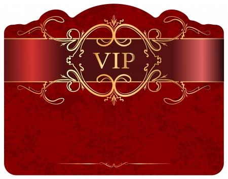 VIP design.  Stockfoto