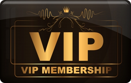 only members: VIP design   illustration