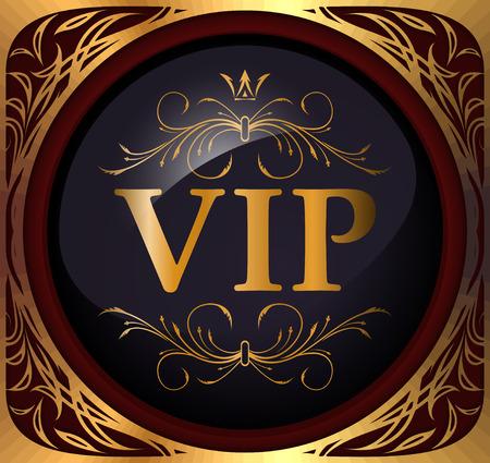 stigma: VIP design  Vector illustration