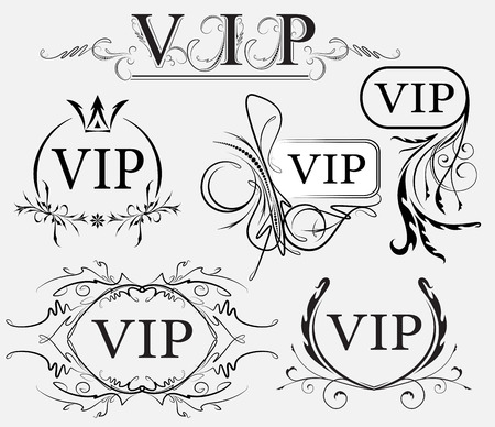 Set of VIP decors photo