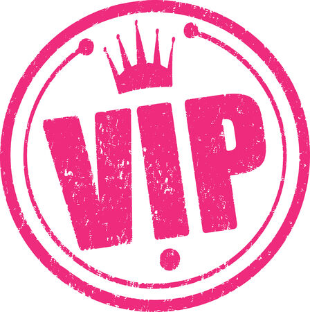 Rubber stamp Vip  photo