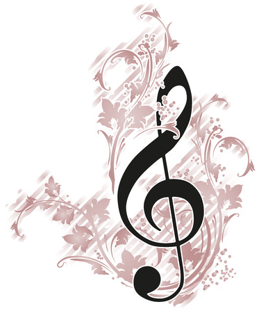 Musical decor  photo