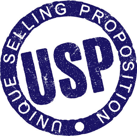 unique selling proposition: Rubber stamp USP