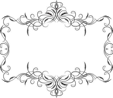 the frame: Retro-styled frame.