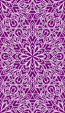 asian and indian ethnicities: Seamless Abstract Tribal Pattern. Ethnic Texture. Illustration In Violet tones.