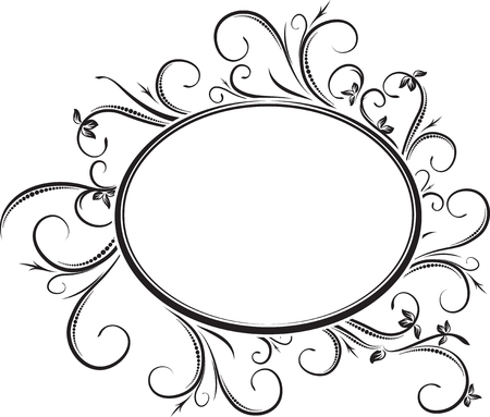 oval frame tattoo design old school oval frame tattoo design plain elegant floral for your design or text oval frame tattoo design wonderful gothic