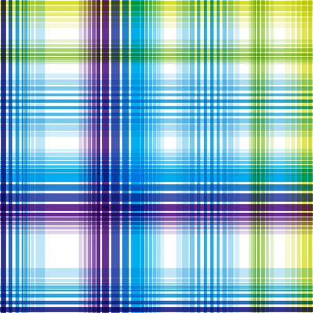 Seamless blue checkered pattern. Vector illustration for your design.