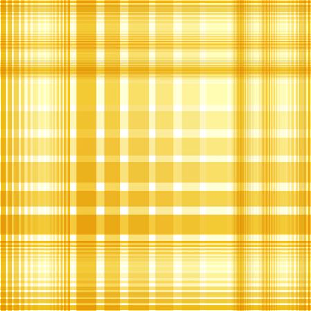checkered pattern: Seamless yellow checkered pattern. Vector illustration for your design.