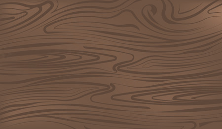Dark brown wooden surface vector illustration for your design Vectores