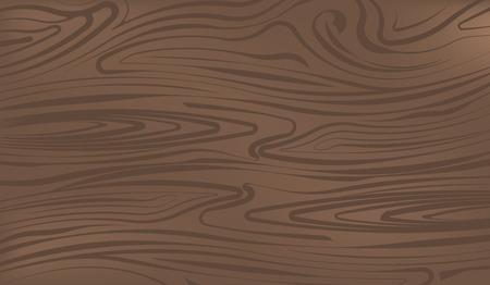 Dark brown wooden surface vector illustration for your design Ilustração