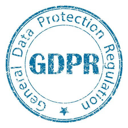 GDPR rubber stamp for your design.