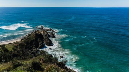 exploring the east coast of australia by camper Stock Photo