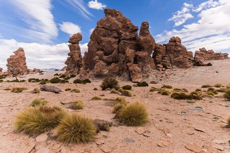 rock formation: Stunning rock formation in Bolivia