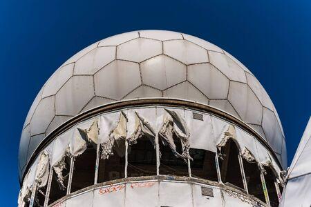 grafiti: Street art at the Teufelsberg Site in Berlin