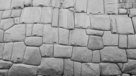 cusco: famous inca wall in cusco peru