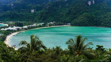 phi: View from Koh Phi Phi Lookout