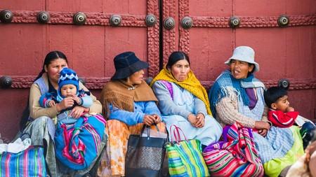 people in bolivia Фото со стока