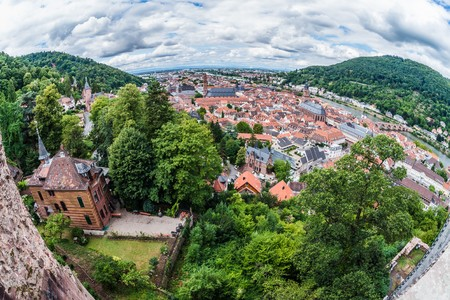 heidelberg: heidelberg, one of germanys most historic cities