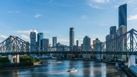 skyline of Brisbane at daytime