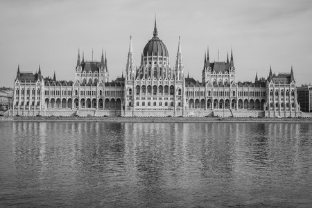 archtecture: budapests impressive archtecture. It is the capital of hungary