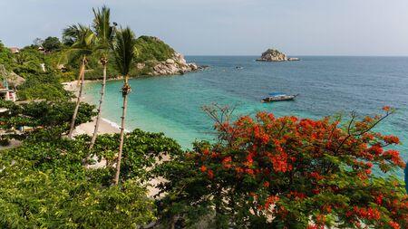 ko: beautiful beach in ko tao thailand