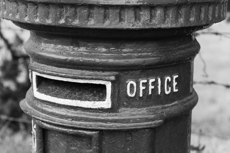 pillar box: a traditional post box
