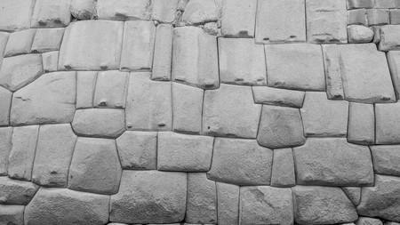 inca: famous inca wall in cusco peru