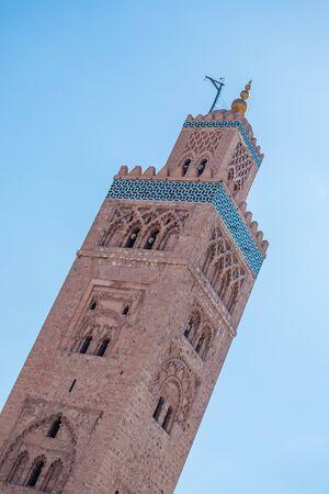 marrakesh: marrakesh minarett