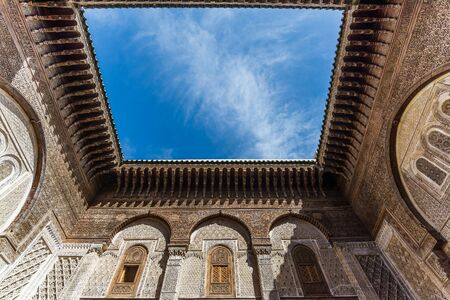 fes: the attarine medersa in fes Editorial
