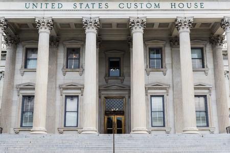 alexander hamilton: Charleston, Stati Uniti d'America: Circa novembre 2014 - casa US Customs