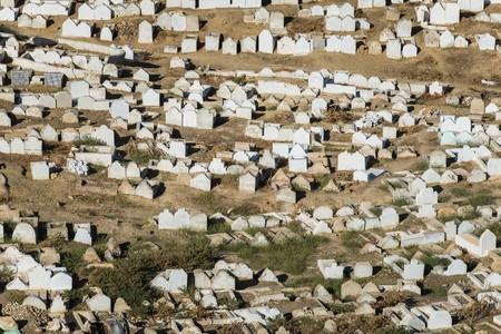 jewish: jewish cemetery in fes