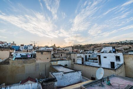 fes: sunset in fes