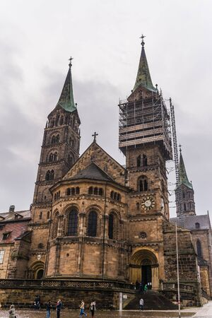 st german: bamberg, Germany: Circa November 2015 - the old town in bamberg Editorial