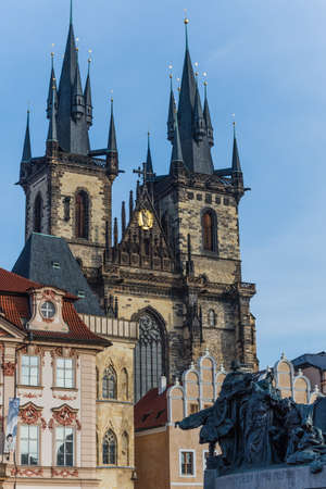 our: Church of Our Lady before Týn in prague Editorial