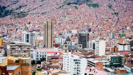 murillo: La Paz, Bolivia - Circa March 2015 - View over La Paz