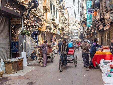 Delhi, India - Circa January 2016 - in the streets of delhi Editorial